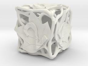 Botanical Die6 (Tulip Tree) in White Premium Versatile Plastic