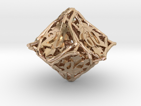 Botanical Decader d10 (Oak) in 14k Rose Gold