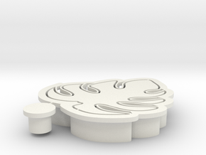 monstela-cookiecutter in White Natural Versatile Plastic