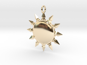 Pelor pendant in 14K Yellow Gold