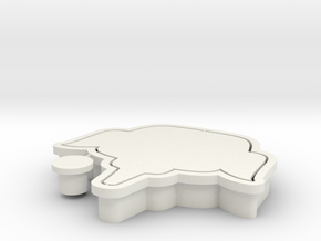 Yukthai-cookiecutter in White Natural Versatile Plastic