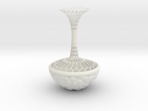 Vase 909M in White Natural Versatile Plastic