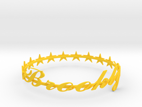SPECIAL Brooklyn Bracelet -50% OFF in Yellow Processed Versatile Plastic