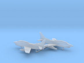 Fiat G.91T/1 in Smooth Fine Detail Plastic: 6mm