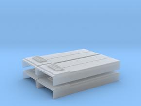 SD40-2 Non Dynamic Brake Hatch (N - 1:160) 4X in Smoothest Fine Detail Plastic