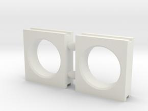 window regulator for and aft slider (pair) in White Natural Versatile Plastic