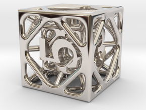 Cage d6 in Platinum