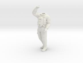 2001 Lunar Astronaut / Pos. 4 / 1:24 / 1:16 in White Natural Versatile Plastic: 1:16