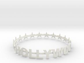 SUPER HOLLYWOOD BRACELET - 50% OFF in White Natural Versatile Plastic
