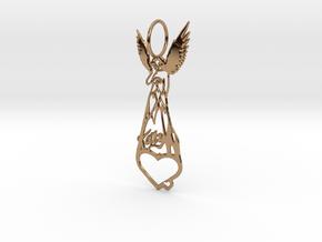 Katy Perry Fan Pendant in Polished Brass