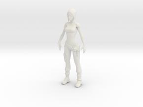 Printle V Femme 1143 - 1/24 - wob in White Natural Versatile Plastic