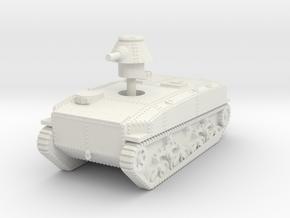 1/144 SR-I I-Go amphibious tank in White Natural Versatile Plastic