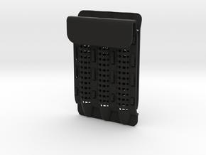 Pocket Protector - Customizable in Black Premium Versatile Plastic