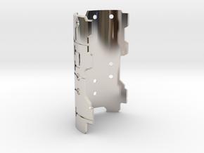 Graflex Mentor - Var1 Part11 - Plate x1 - Style1 in Rhodium Plated Brass