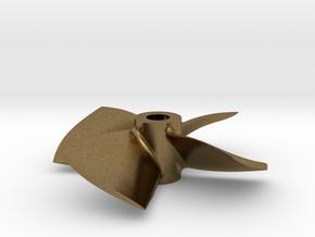 """1.75"""" - BKSP LH - 3/16"""" Shaft in Natural Bronze"""