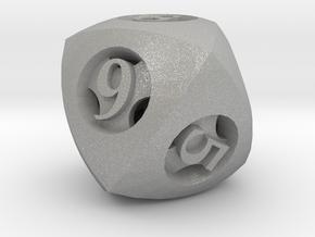Overstuffed d8 in Aluminum