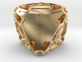 Premier Die8 in 14K Yellow Gold
