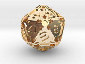 Premier d20 in 14K Yellow Gold