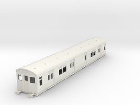 O-87-lner-single-luggage-motor-coach in White Natural Versatile Plastic