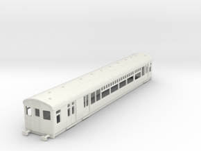 O-87-lner-single-lugg-3rd-motor-coach in White Natural Versatile Plastic