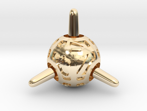 Sputnik d4 in 14K Yellow Gold