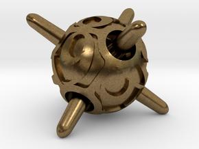 Sputnik d8 in Natural Bronze