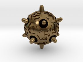 Sputnik d20 in Natural Bronze
