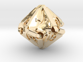 Stretcher Decader d10 in 14K Yellow Gold