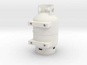 RBRC propane tank  in White Natural Versatile Plastic