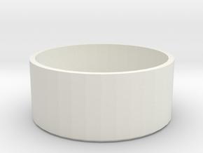 GoProLensCap in White Natural Versatile Plastic