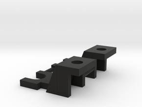 MTH Roller Adapter For Golden Gate Depot cars in Black Natural Versatile Plastic