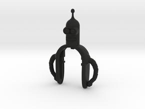 BENDER II KEY FOB FOR MINI COOPER F MODELS in Black Natural Versatile Plastic
