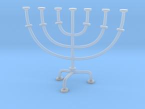 Menorah chandelier 1:12 scale model V2 in Smooth Fine Detail Plastic