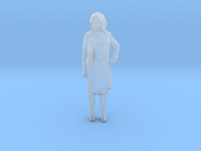 Printle C Femme 929 - 1/87 - wob in Smooth Fine Detail Plastic