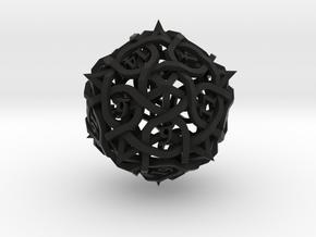 Thorn Die20 in Black Premium Versatile Plastic
