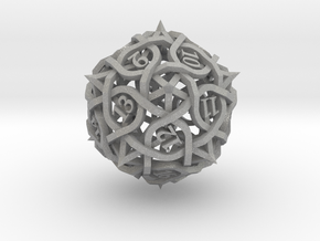 Spindown Thorn d20 in Aluminum