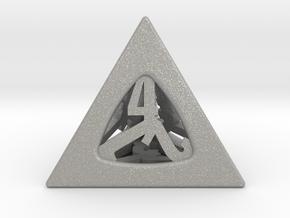 Thoroughly Modern d4 in Aluminum