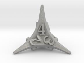 Caltrop d4 in Aluminum