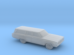 1/87 1968 Dodge Coronet Station Wagon in Smooth Fine Detail Plastic