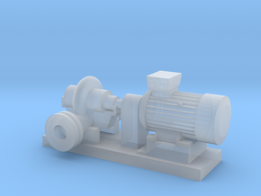 O Scale Centrifugal Pump #1 (Size 3.5) in Smooth Fine Detail Plastic