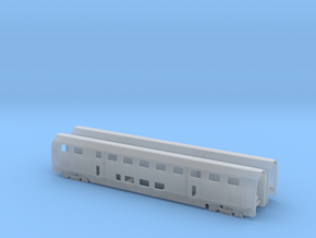 TT - RABE502 SBB Twindexx - First Class Trailers in Smooth Fine Detail Plastic