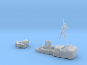 Thetis Class, Superstructure (1:285) in Smooth Fine Detail Plastic