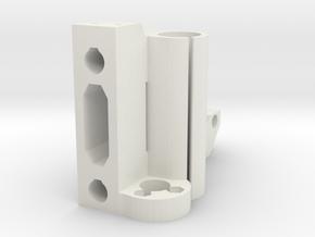 X-motor for i3 3d printer clone in White Natural Versatile Plastic