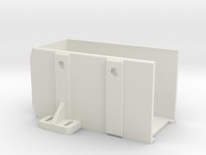 PSU-enclosure for i3 3d printer clone in White Natural Versatile Plastic