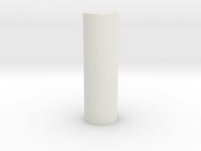 bearingaxis for i3 3d printer clone in White Natural Versatile Plastic