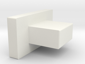 AK_TDC_PIN in White Natural Versatile Plastic