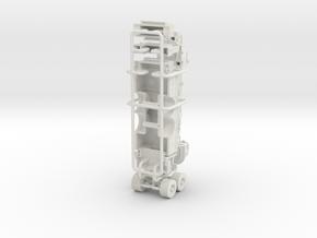 1/87 75' Tower Ladder Body w/ Boom V3 in White Natural Versatile Plastic