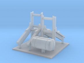 1/96 scale Life Boat Hangers for LCS2 in Smooth Fine Detail Plastic