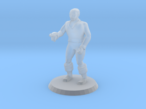 Space Officer 4 in Smooth Fine Detail Plastic