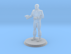 Space Officer 5 in Smooth Fine Detail Plastic